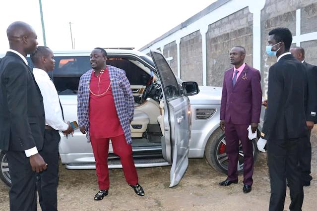 city prophet Victor Kanyari v8 cars