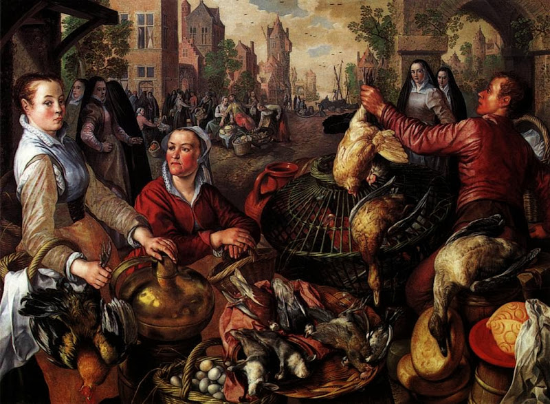 Joachim Beuckelaer - Four Elements.Air.