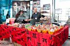 Stand de comida y snacks japoneses
