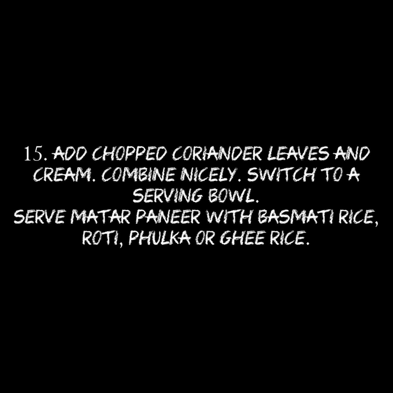 The best way to make matar paneer recipe