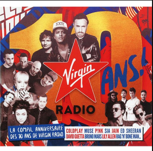 Download CD Virgin Radio Les 10 Ans - 2018 Torrent