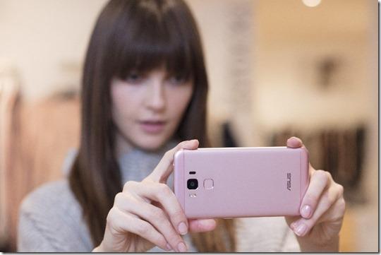 Asus Zenfone 3 Max ZC553KL Rose Pink 2