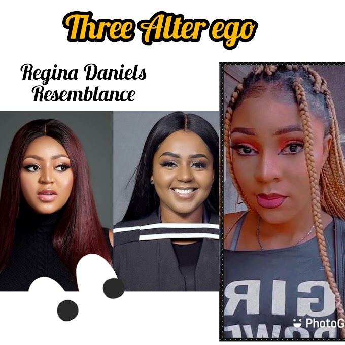 Meet the counter part of Nollywood Popular Actress Regina Daniels