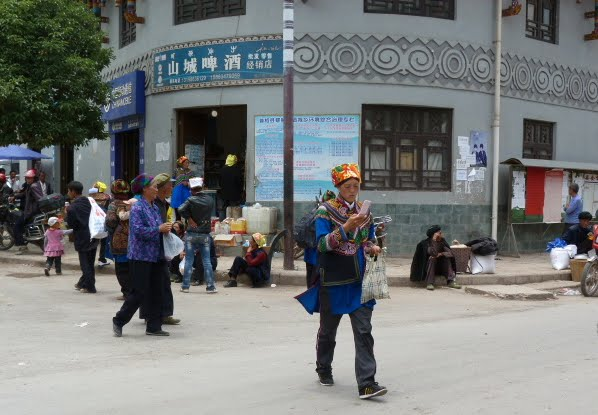 CHINE SICHUAN.XI CHANG ET MINORITE YI, à 1 heure de route de la ville - 1sichuan%2B923.JPG