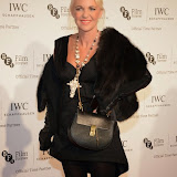 WWW.ENTSIMAGES.COM -  Amanda Eliasch   arriving at       IWC Schaffhausen and BFI London Film Festival - private dinner at Battersea Evolution, London October 7th 2014Swiss watch brand and British Film Institute host party to celebrate their three year partnership.                                                Photo Mobis Photos/OIC 0203 174 1069