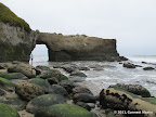 Arch at Lighthouse Field State Beach