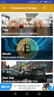 Dodatkowe Pieniądze Screenshot