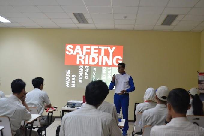 Safety Riding Wahana Honda sambangi PT Mitsuba Indonesia