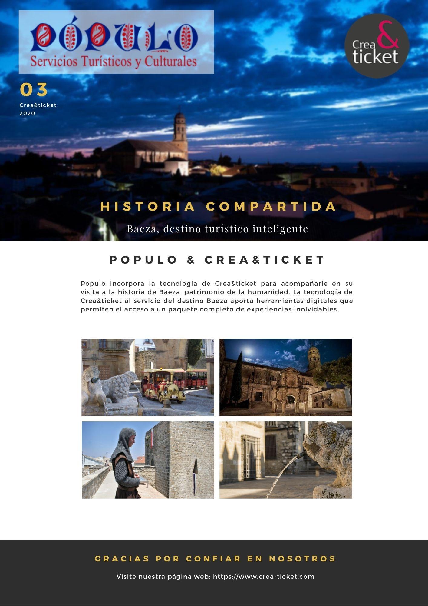 Baeza, patrimonio de la humanidad  y destino turístico inteligente.