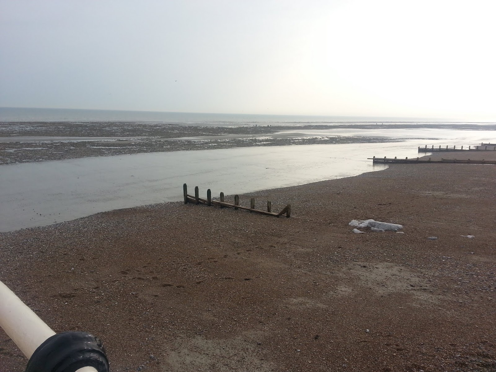 20140330 164942 1 View from Worthing Pier at low tide