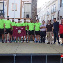 Recibimiento participantes Powerade Madrid-Lisboa