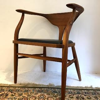 Organic Modernism Hopper Walnut Chair #2