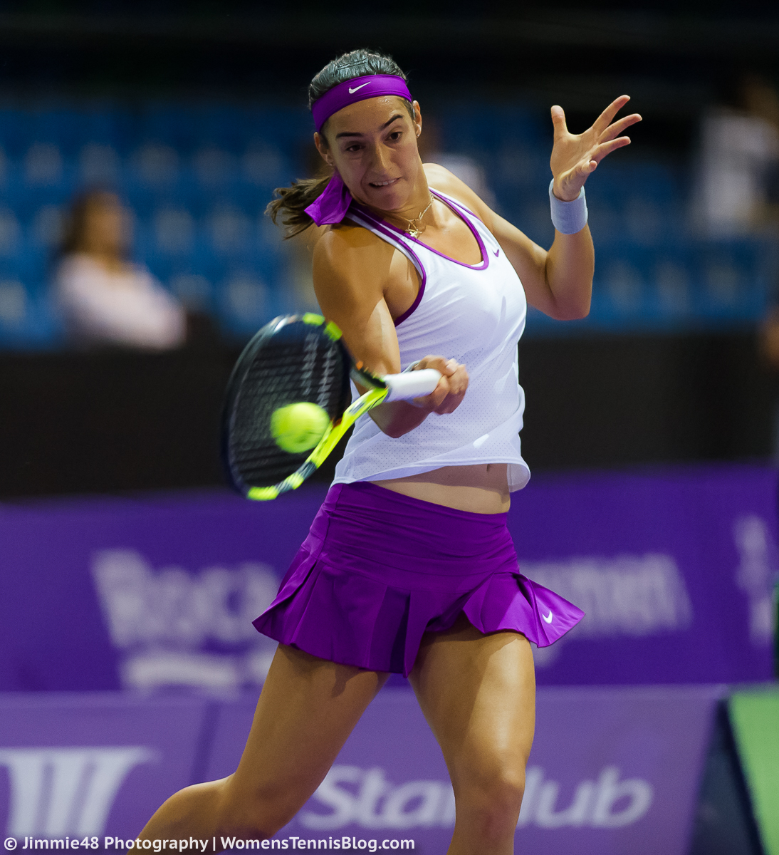 Wta: Singapore Warms Up For WTA Finals