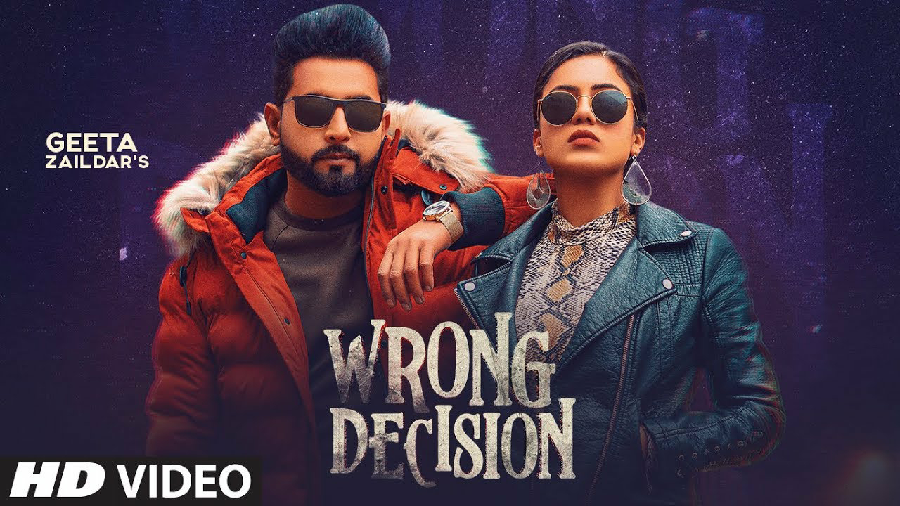 wrong decision MP3 song download by Geeta jaildar