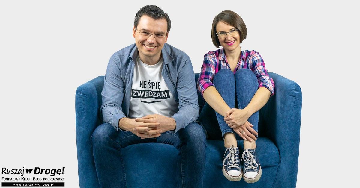 Kasia i Maciej Marczewscy, Fundacja Ruszaj w Drogę