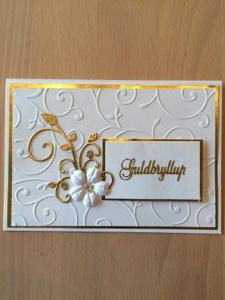 invitation til guldbryllup gratis