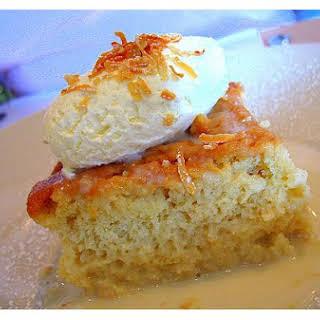 Gourmet Coconut Cake.