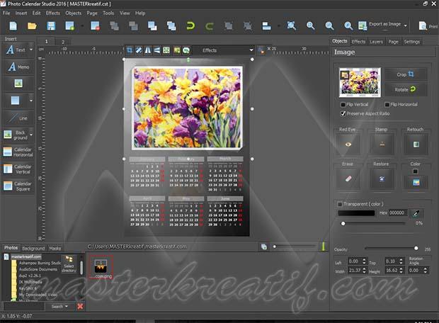 Photo Calendar Studio 2016