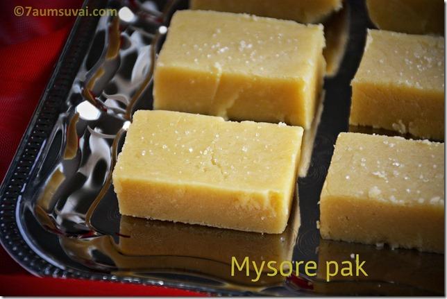 Mysore pak / Ghee Mysore pak