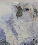 Tauwetter und Regen 1 - Olio su tela, 120 x 150 cm, 2006