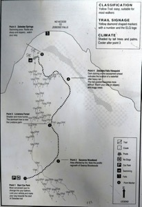 Zebedee Springs Map