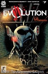 Actualización 07/09/2018: Se agrega el numero 7 de Animosity Evolution por Azrael para Ladroncorps. Con una crisis derrotada, una nueva némesis se esconde en las profundidades de la ciudad, envenenando aquello con lo que ningún ser vivo puede vivir--agua.