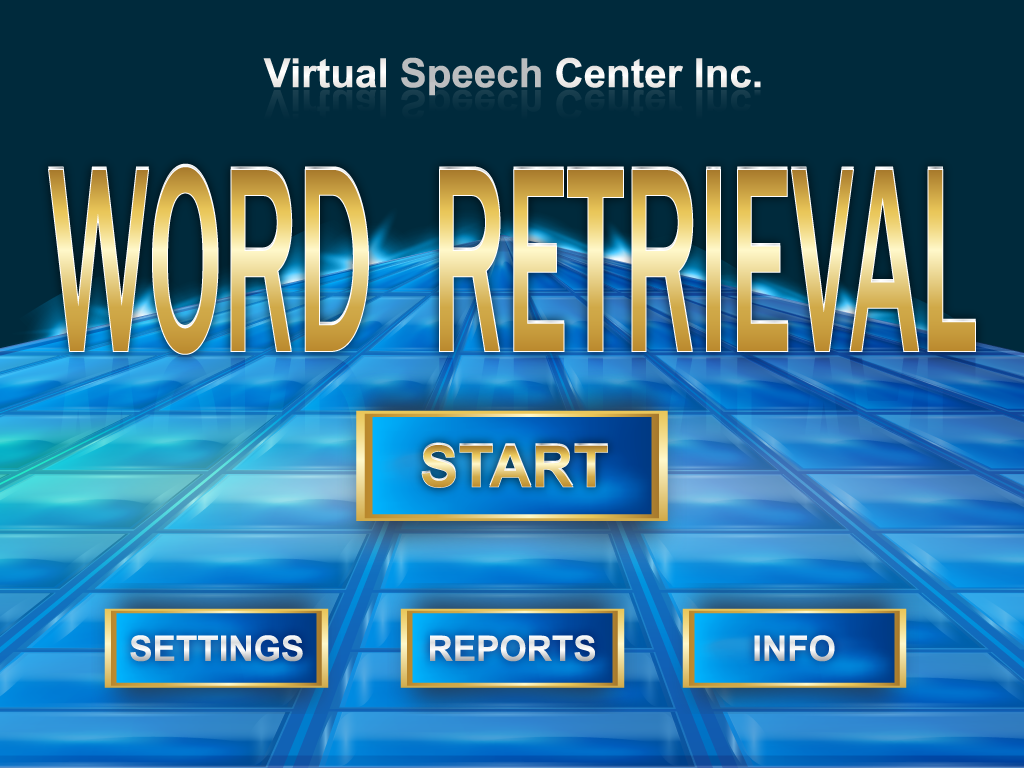 Word Retrieval Main Page