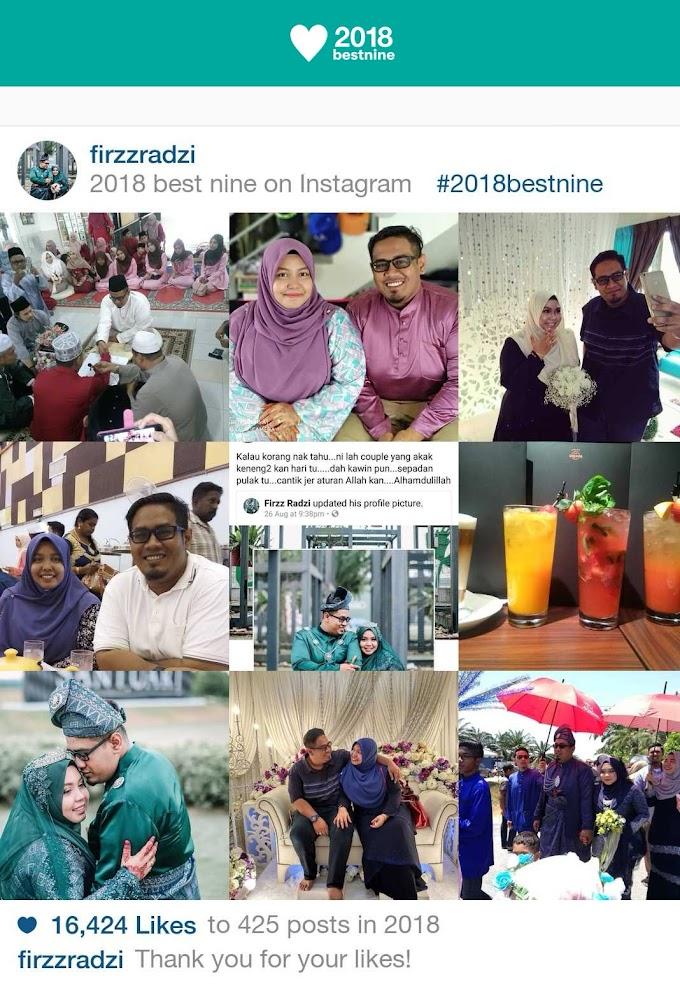 2018 : Lebih Banyak Manis Dari Pahit