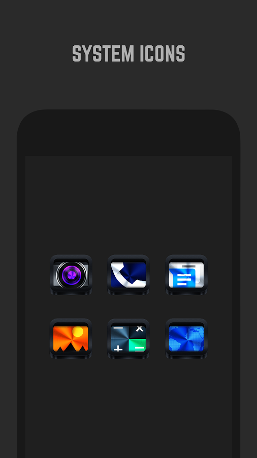 Dark Metal Icon Pack- screenshot
