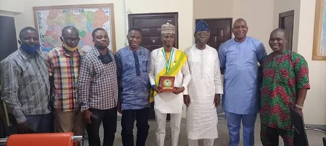 Presidential Honour: Fedpoffa Management, Alumni Association Celebrate Ex-Student