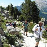 Wanderung mit Luis 14.07.15 Rosengarten - Escursione con guida Luis Catinaccio