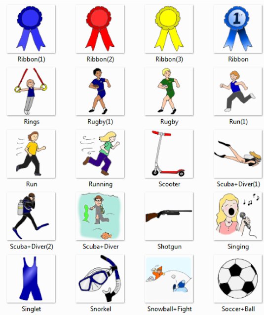Sports%2520%2526%2520Leisure%2520Pictures%2520for%2520Classroom%2520and%2520Therapy%2520 8  Sport, exercise actions  people english through pictures