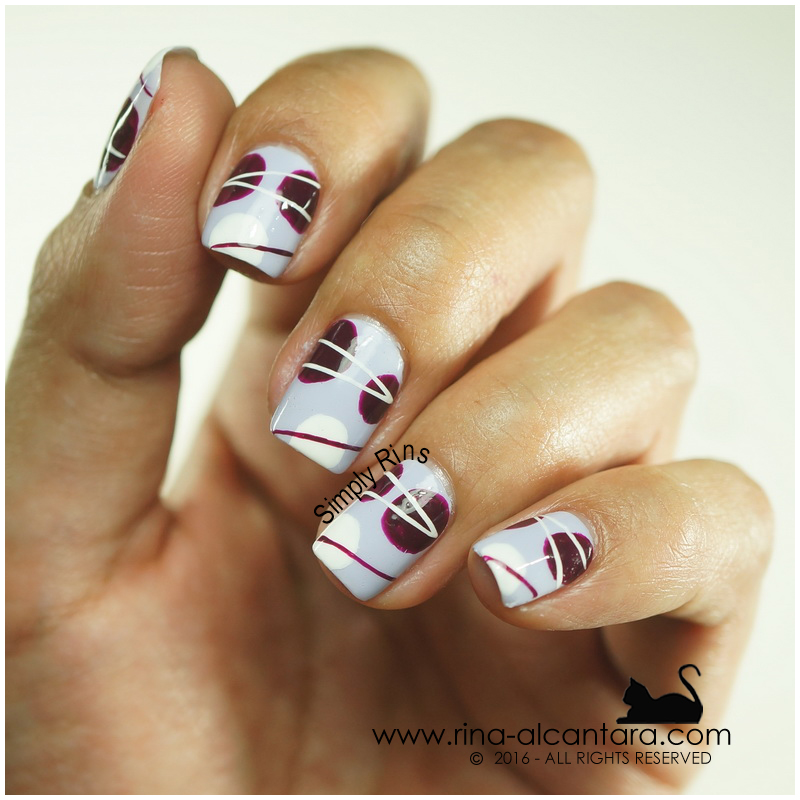 Abstract Nail Art by Simply Rins