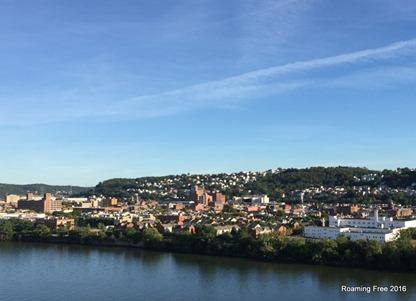 Pittsburgh hillside housing
