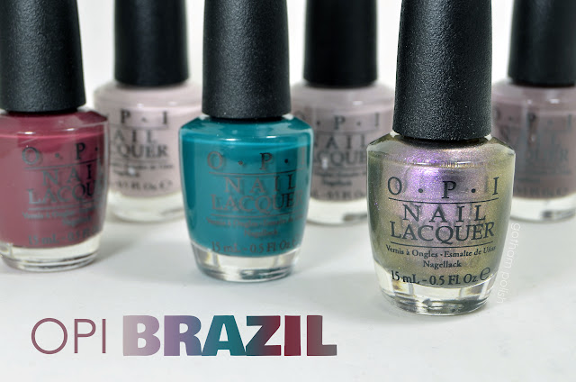 OPI Brazil Swatches & Reviews