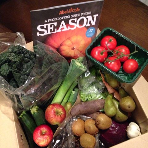 Large Keen Cook's Fruit and Veg Box from Abel and Cole