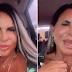 EM VÍDEO, GRETCHEN ESBANJA AUTOESTIMA: 'SOU BOA DE CAMA E DONA DO MEU CARTÃO DE CRÉDITO'