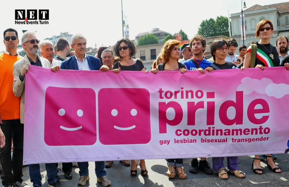 Sergio Chiamparino gay pride Torino Lgbt