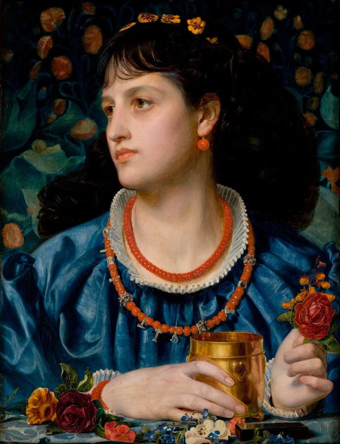 Frederick Sandys - Ysoude with the Love Philter