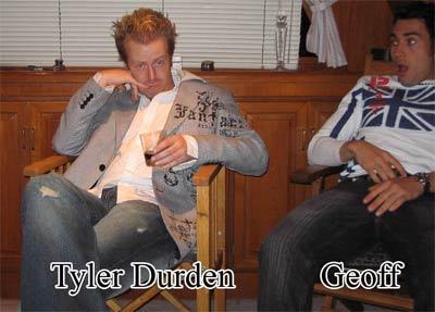 Pickup Artist Tyler Durden Al19, Tyler Durden