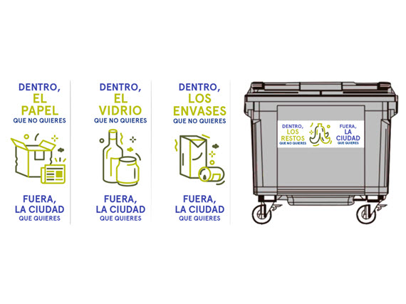 Campaña de sensibilización y participación sobre Limpieza en Madrid