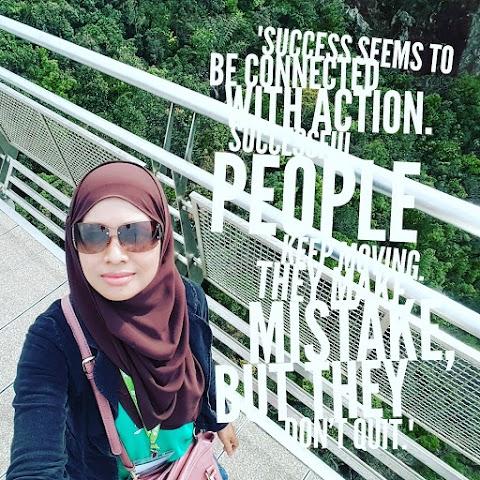 Jangan Sesekali Berhenti Menggapai Kejayaan