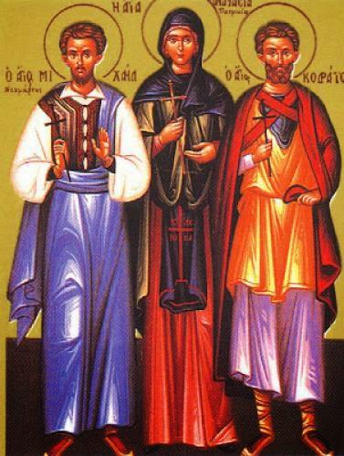 Martyr Anastasia The Patrician Of Alexandria