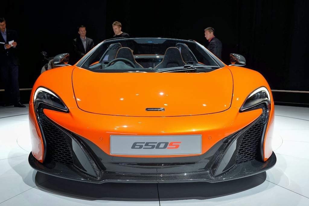 McLaren 650S Spider Geneva Motor Show 30