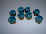 RVC-B Intake Valve seals, never use on Exhaust guides. 16.00 set, requires machining guides except 1966 401-425.