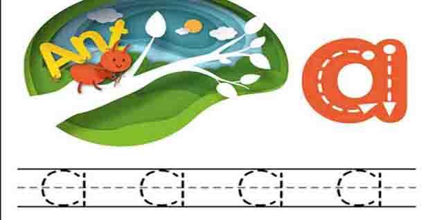 تحميل ملزمة تعليم كتابة الحروف الإنجليزية للأطفال بالصور بصيغة pdf