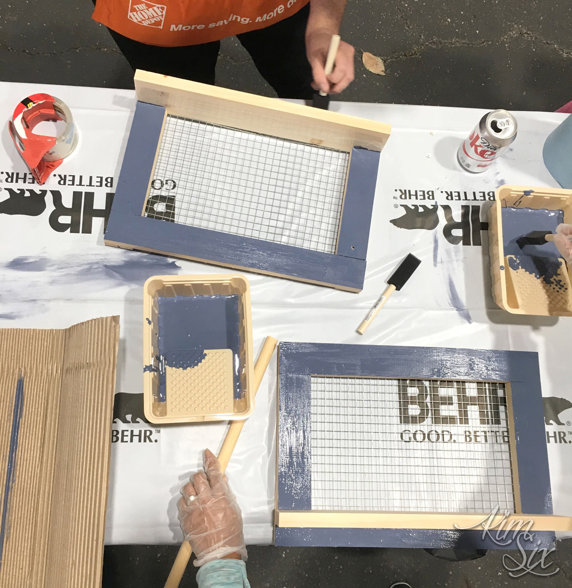 Painting diy projects at home depot