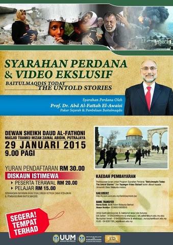 Buat Pencinta Al Aqsa Jom Daftar