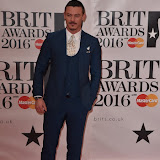 OIC - ENTSIMAGES.COM - Luke Evans at the  The BRIT Awards 2016 (BRITs) in London 24th February 2016.  Raymond Weil's  Official Watch and  Timing Partner for the BRIT Awards. Photo Mobis Photos/OIC 0203 174 1069