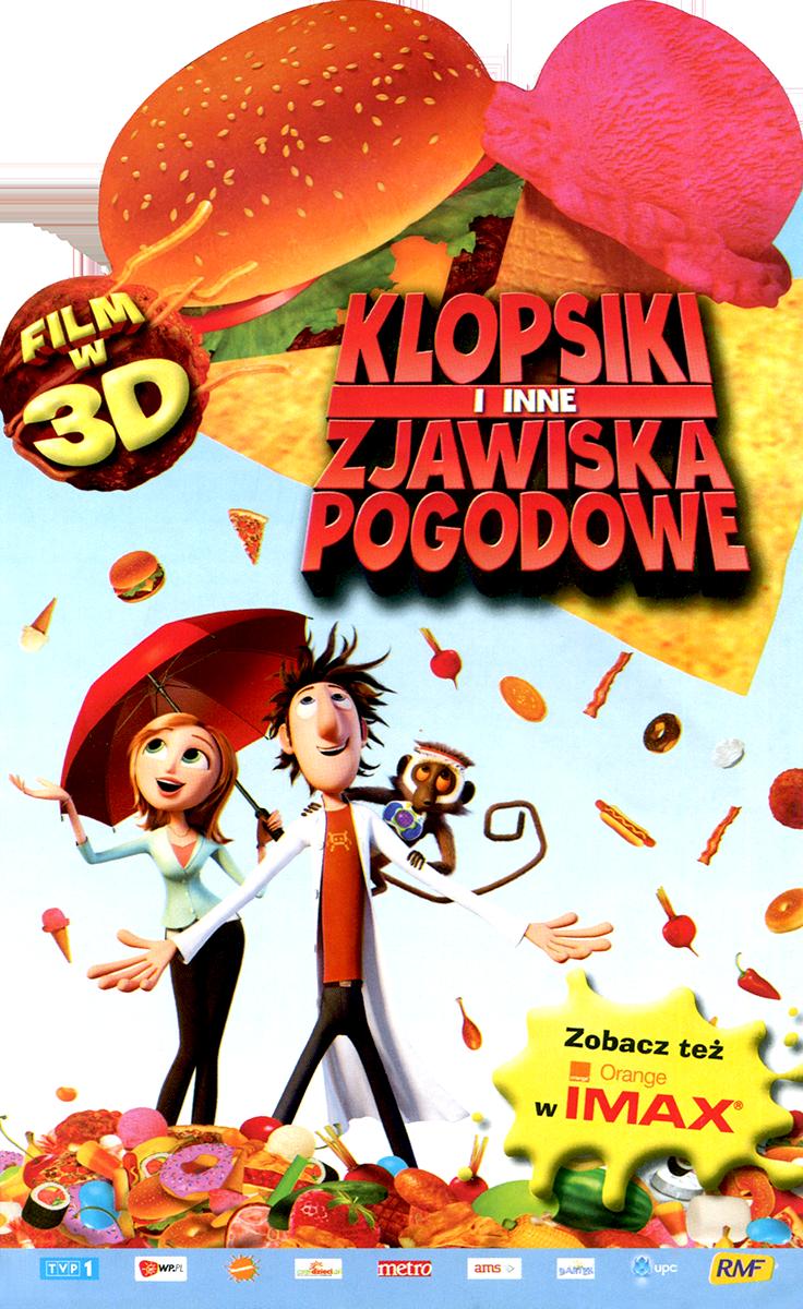 Ulotka filmu 'Klopsiki i Inne Zjawiska Pogodowe (przód)'